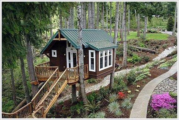 t6 Coola trädhusdesignidéer att bygga (44 bilder)