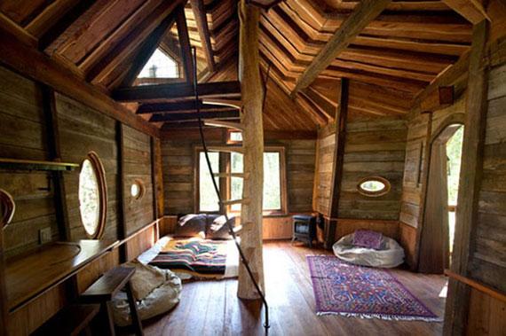 t37 Cool Treehouse designidéer att bygga (44 bilder)