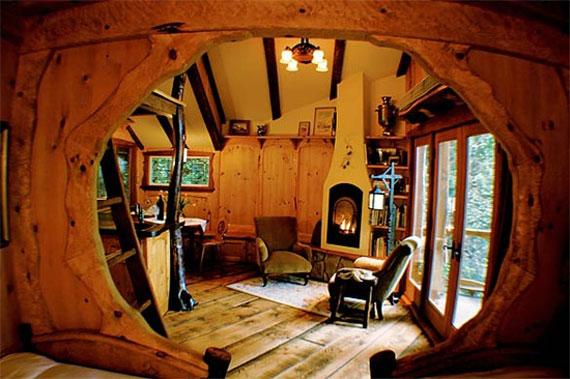 t16 Cool Treehouse designidéer att bygga (44 bilder)
