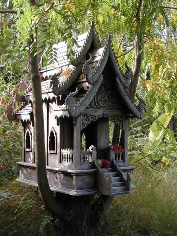 t32 Cool Treehouse designidéer att bygga (44 bilder)