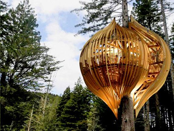 t10 Cool Treehouse Design Idéer att bygga (44 bilder)