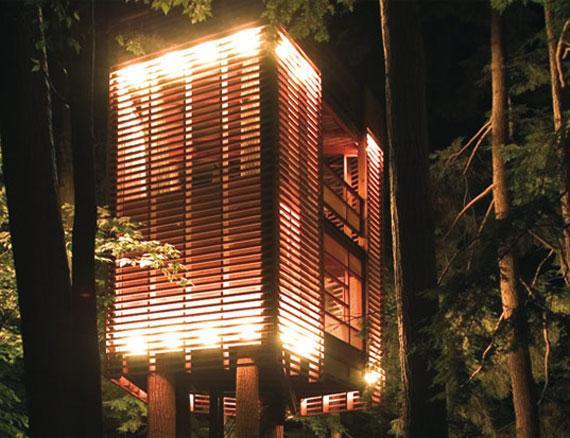 t9 Coola Treehouse designidéer att bygga (44 bilder)