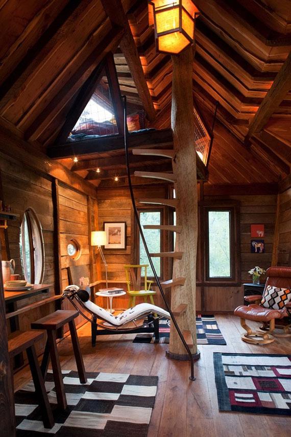 t15 Coola Treehouse designidéer att bygga (44 bilder)