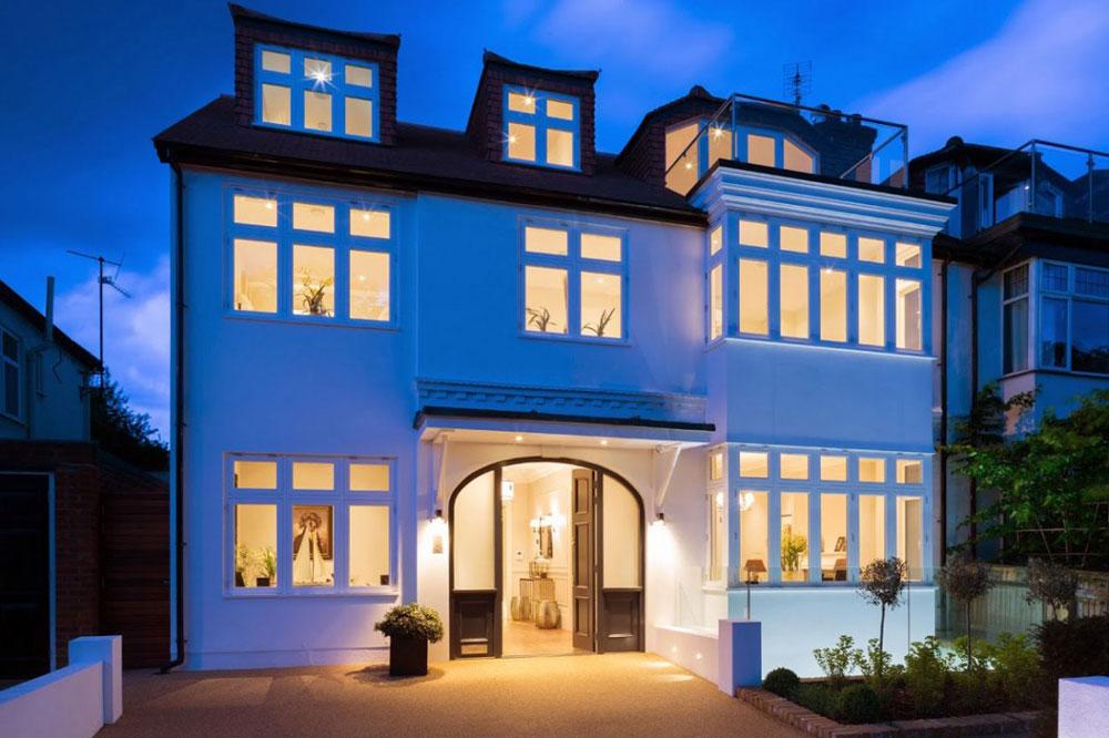 Modernt engelska-hus-i-Lonsdale-gata-designat av Granit-Chartered-arkitekter-20 Modernt engelsk-hus i Lonsdale Road designat av Granit Chartered Architects