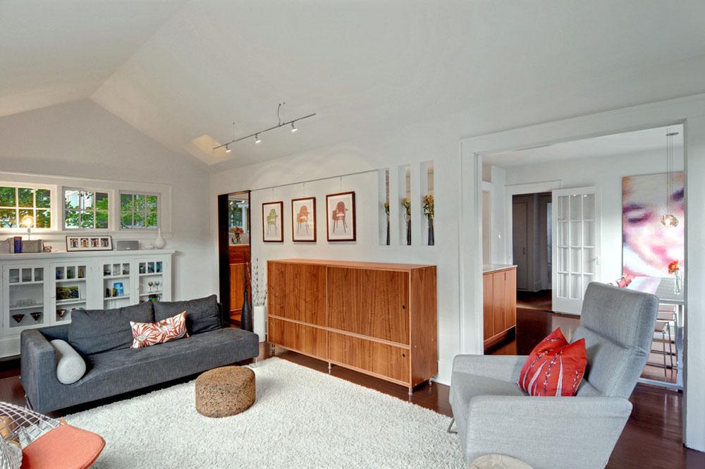 Dekorera och lägga till färg i rum med vita väggar 13 Dekorera och lägga till färg i rum med vita väggar