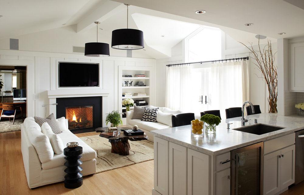 Dekorera och lägga till färg i rum med vita väggar 3 Dekorera och lägga till färg i rum med vita väggar