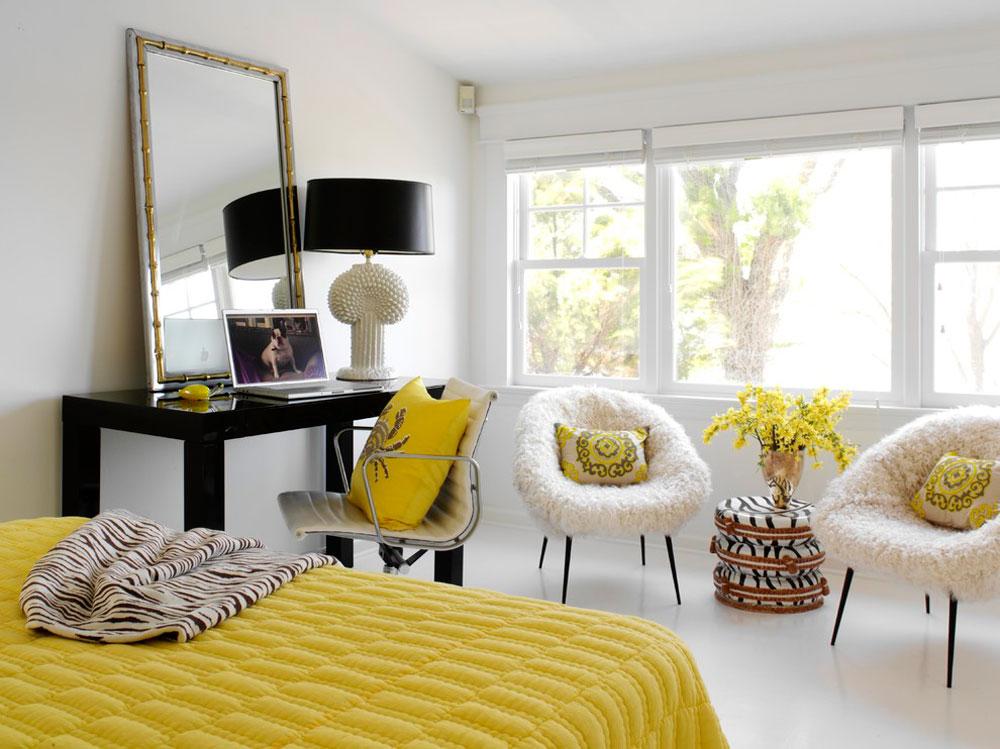 Dekorera och lägga till färg i rum med vita väggar 5 Dekorera och lägg till färg i rum med vita väggar