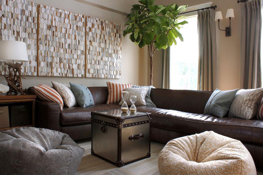 Dekorera och lägga till färg till rum med vita väggar 12 Dekorera och lägga till färg till rum med vita väggar