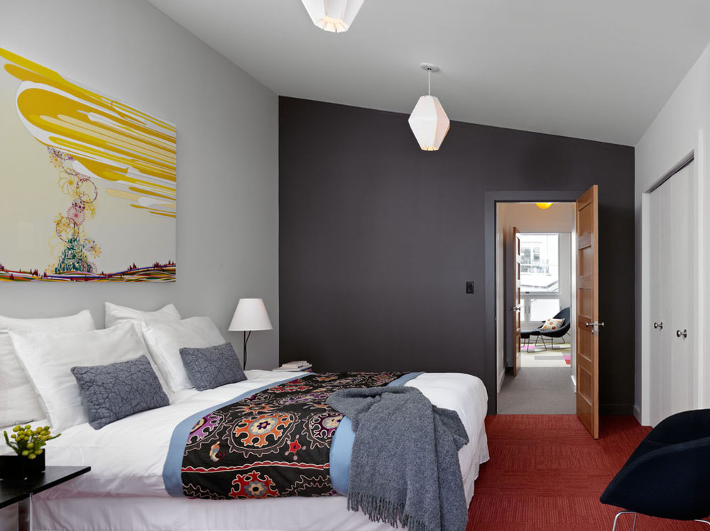 Dekorera och lägga till färg i rum med vita väggar 6 Dekorera och lägga till färg i rum med vita väggar