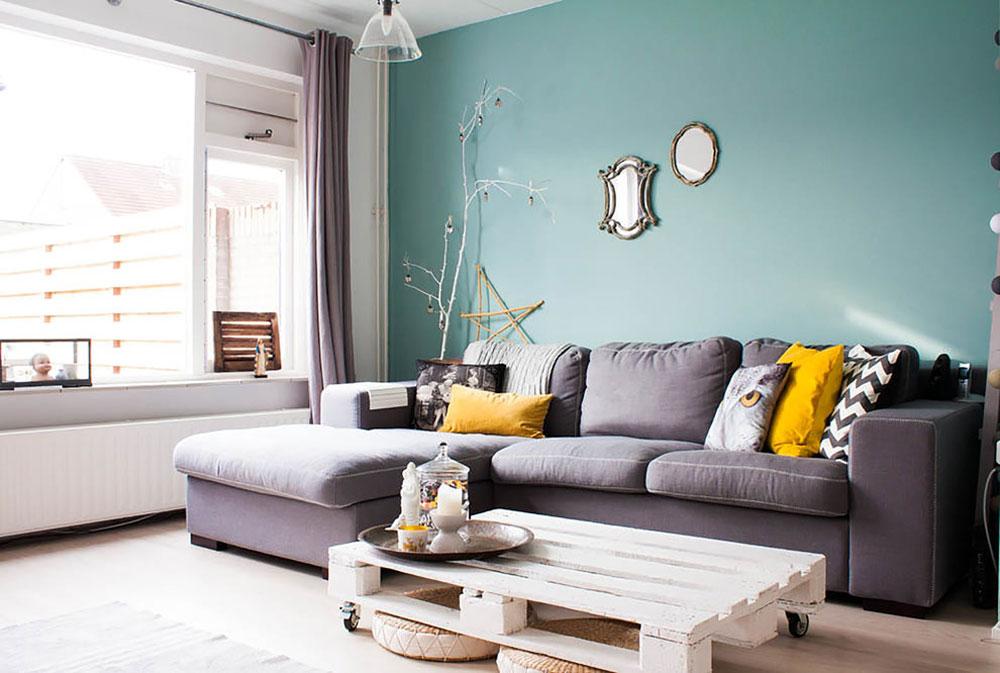 Dekorera och lägga till färg till rum med vita väggar 14 Dekorera och lägga till färg till rum med vita väggar