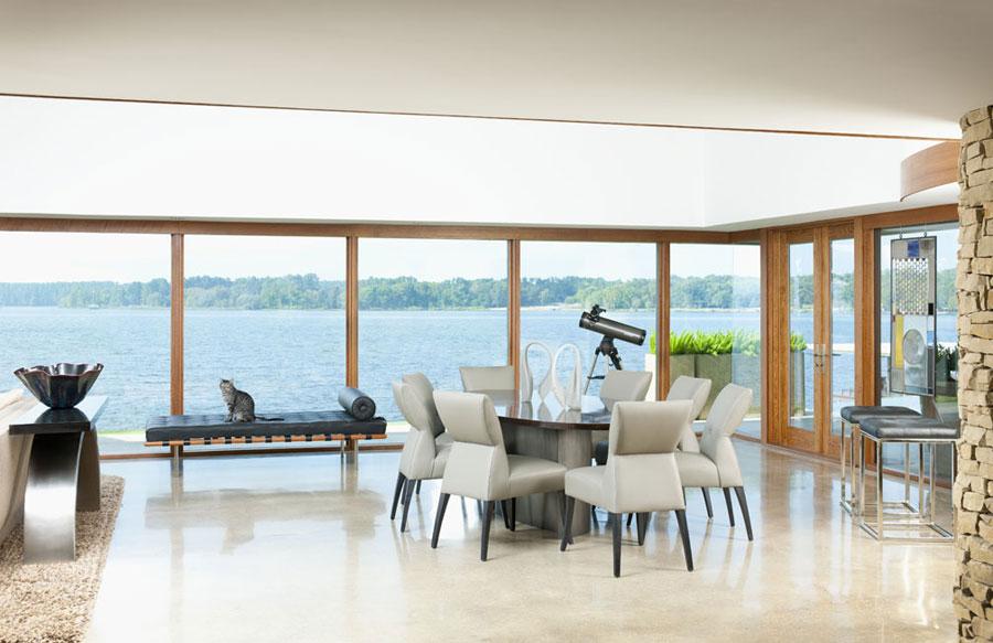 4 iögonfallande sjöhus designat av Mary Anne Smiley Interiors