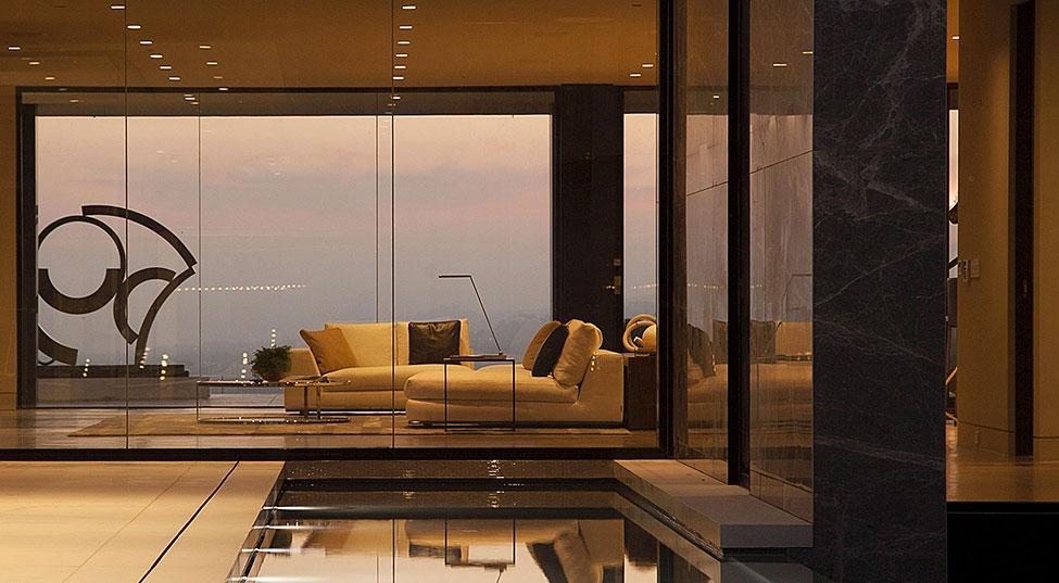 Los-Angeles-lyx-villa-designad-4 Los Angeles lyx-villa designad av Mcclean Design Architects