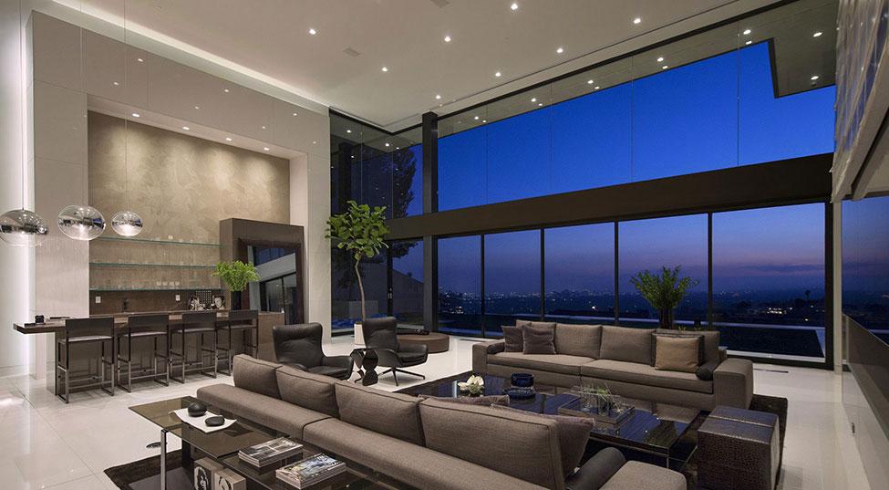 Los-Angeles-lyx-villa-designad-7 Los Angeles lyx-villa designad av Mcclean Design Architects
