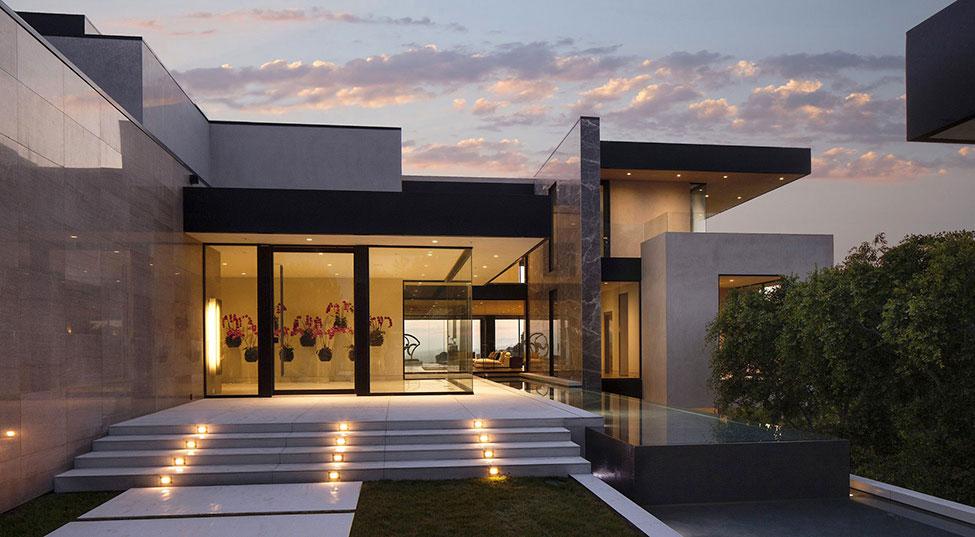 Los-Angeles-lyx-villa-designad-2 Los Angeles lyx-villa designad av Mcclean Design Architects