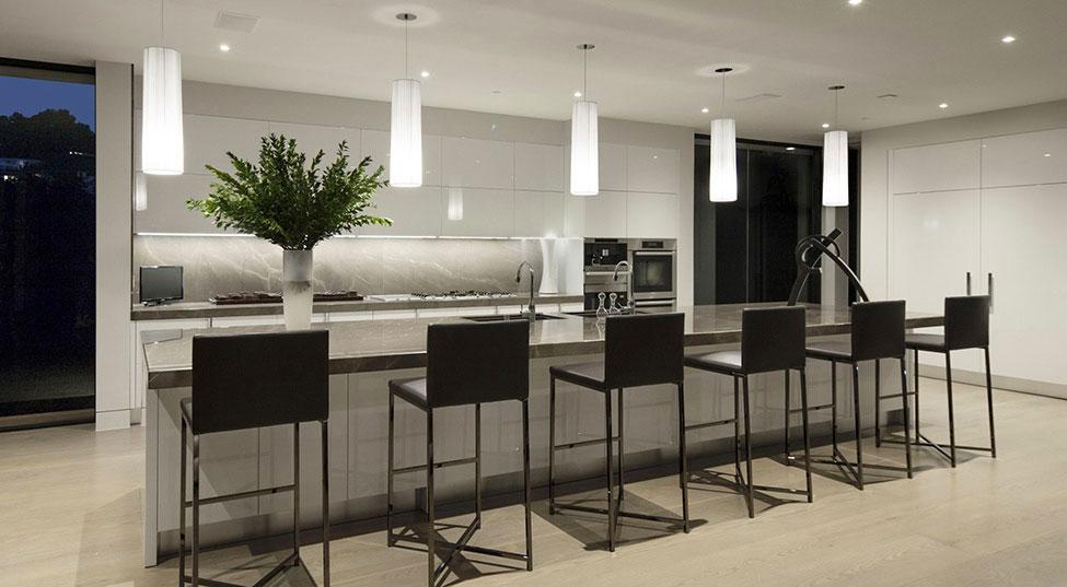Los Angeles Luxury Villa Designed 6 Los Angeles Luxury Villa Designad av Mcclean Design Architects