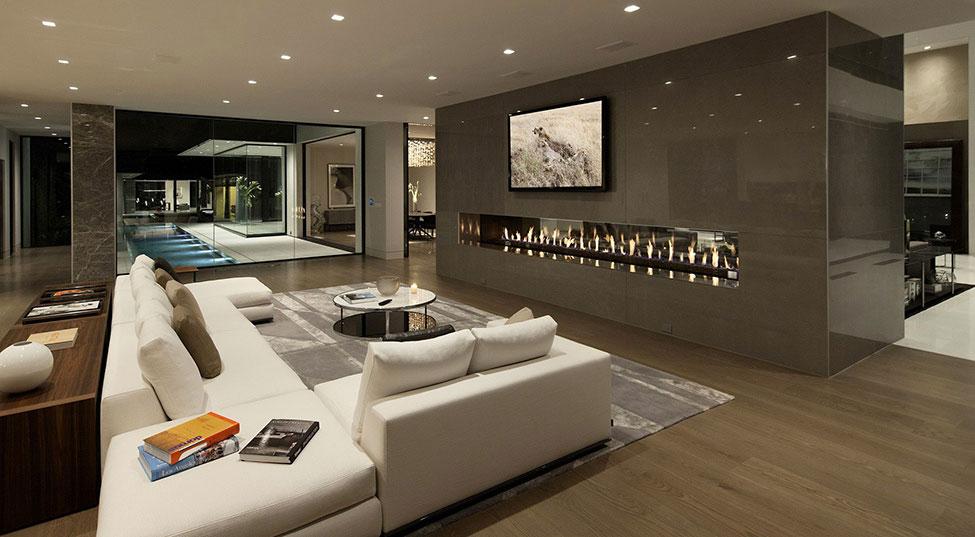 Los Angeles Luxury Villa Designed 5 Los Angeles Luxury Villa Designad av Mcclean Design Architects