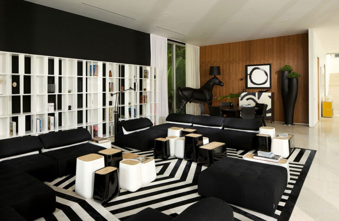 Hus med imponerande inredning av Kobi-Karp-Architektur-6 Hus med imponerande inredning av Kobi Karp-Architektur