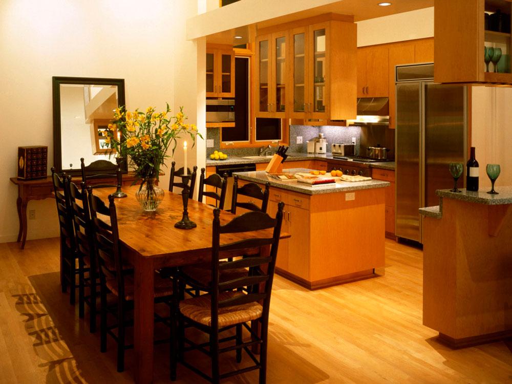Sympatiska kök och matsalskombinationer-5 Sympatiska kök och matsalskombinationer