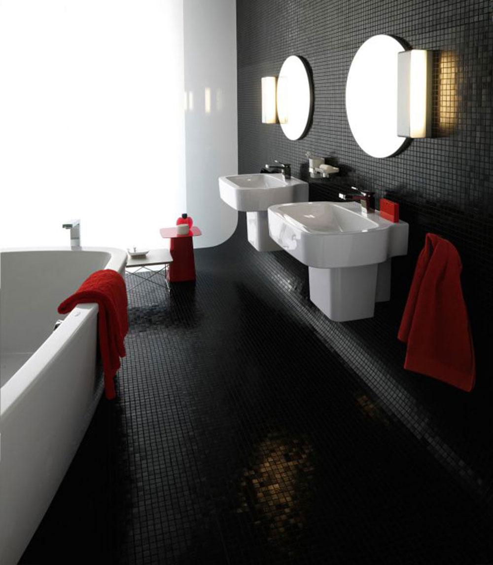 Ta en titt på dessa svarta badrumsinteriörer-20 Ta en titt på dessa svarta badrumsinredning
