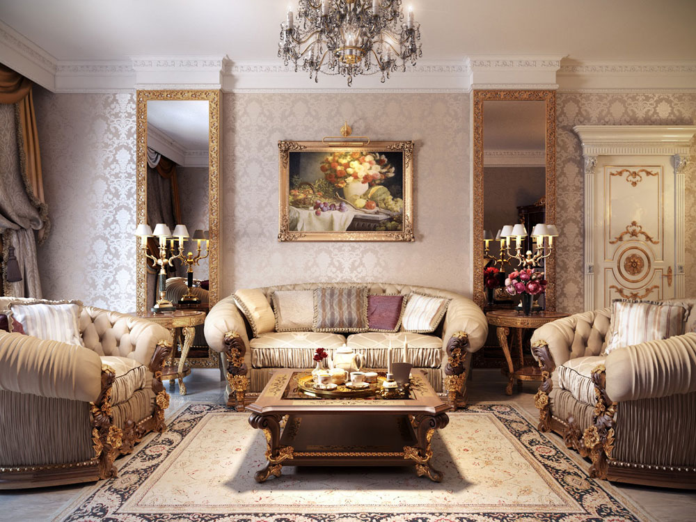 Massa inredningsprinciper och element som gör ett vackert hem