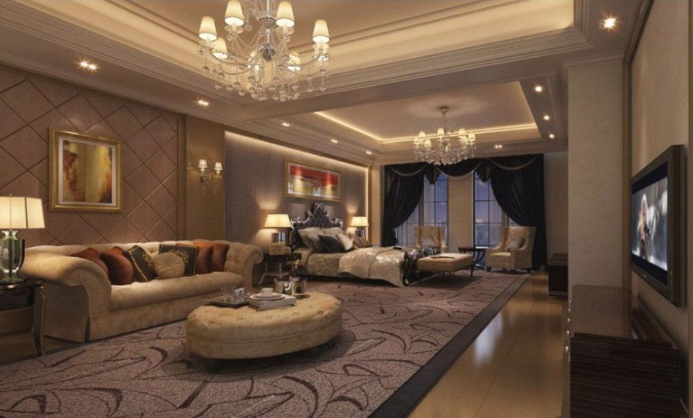 Forma och forma inredningsprinciper och element som gör ett vackert hem