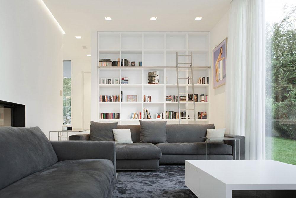 Modern och elegant grå vardagsrumsinredning-12 Modern och elegant grå vardagsrumsinredning