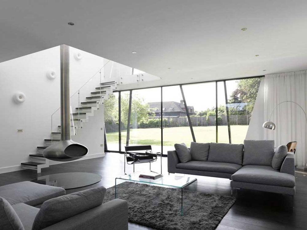 Modern och elegant grå vardagsrumsinredning-4 Modern och elegant grå vardagsrumsinredning