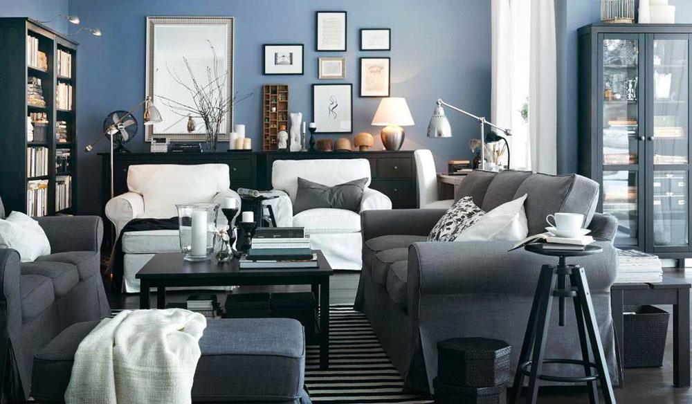 Modern och elegant grå vardagsrumsinredning-5 Modern och elegant grå vardagsrumsinredning