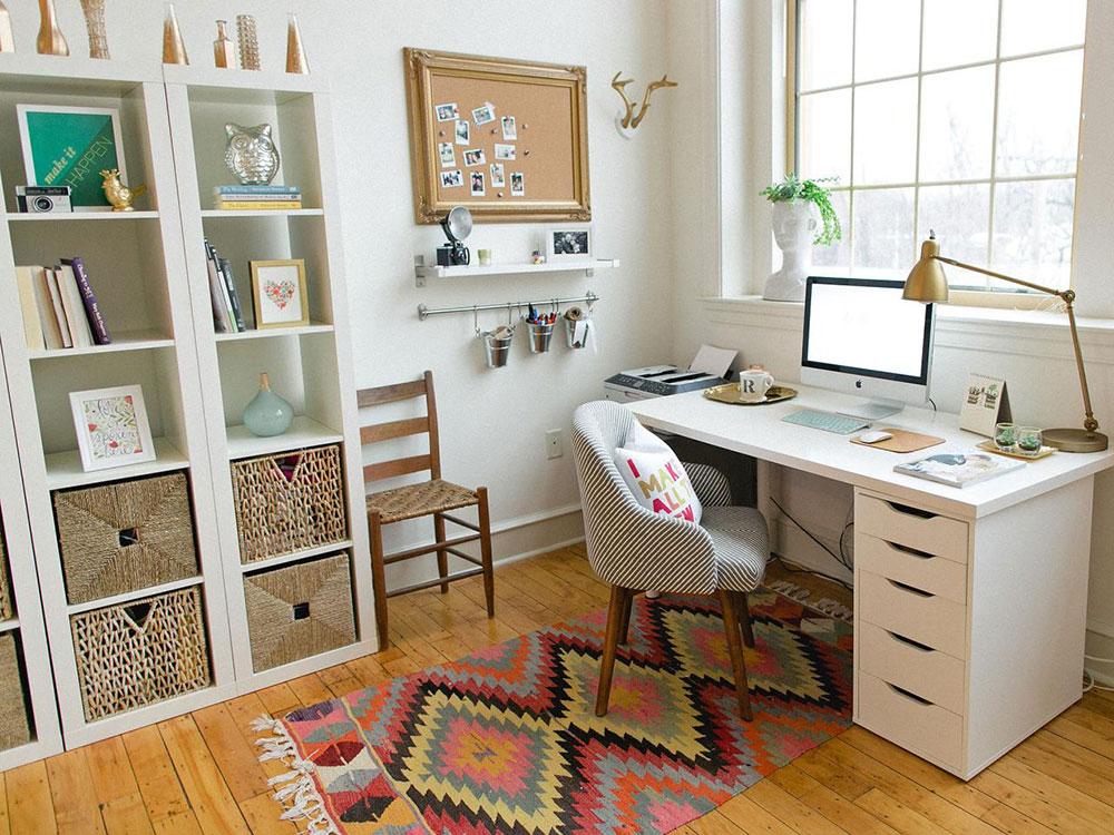 Home Office Home Hur kan studenter utforma sin arbetsyta med en budget?