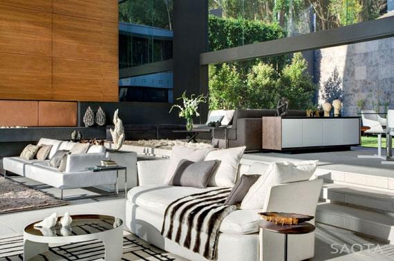 af2 Splendid House in South Africa Av SAOTA Architects och OKHA Interiors