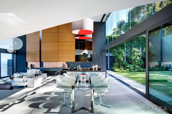 af4 Splendid House in South Africa Av SAOTA Architects och OKHA Interiors