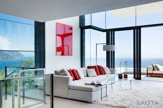 af8 Splendid House in South Africa Av SAOTA Architects och OKHA Interiors