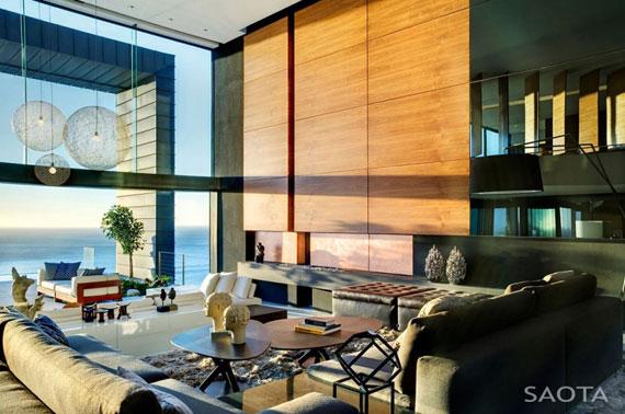 af7 Splendid House in South Africa Av SAOTA Architects och OKHA Interiors