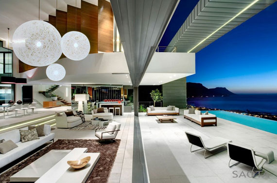 af5 Splendid House in South Africa Av SAOTA Architects och OKHA Interiors