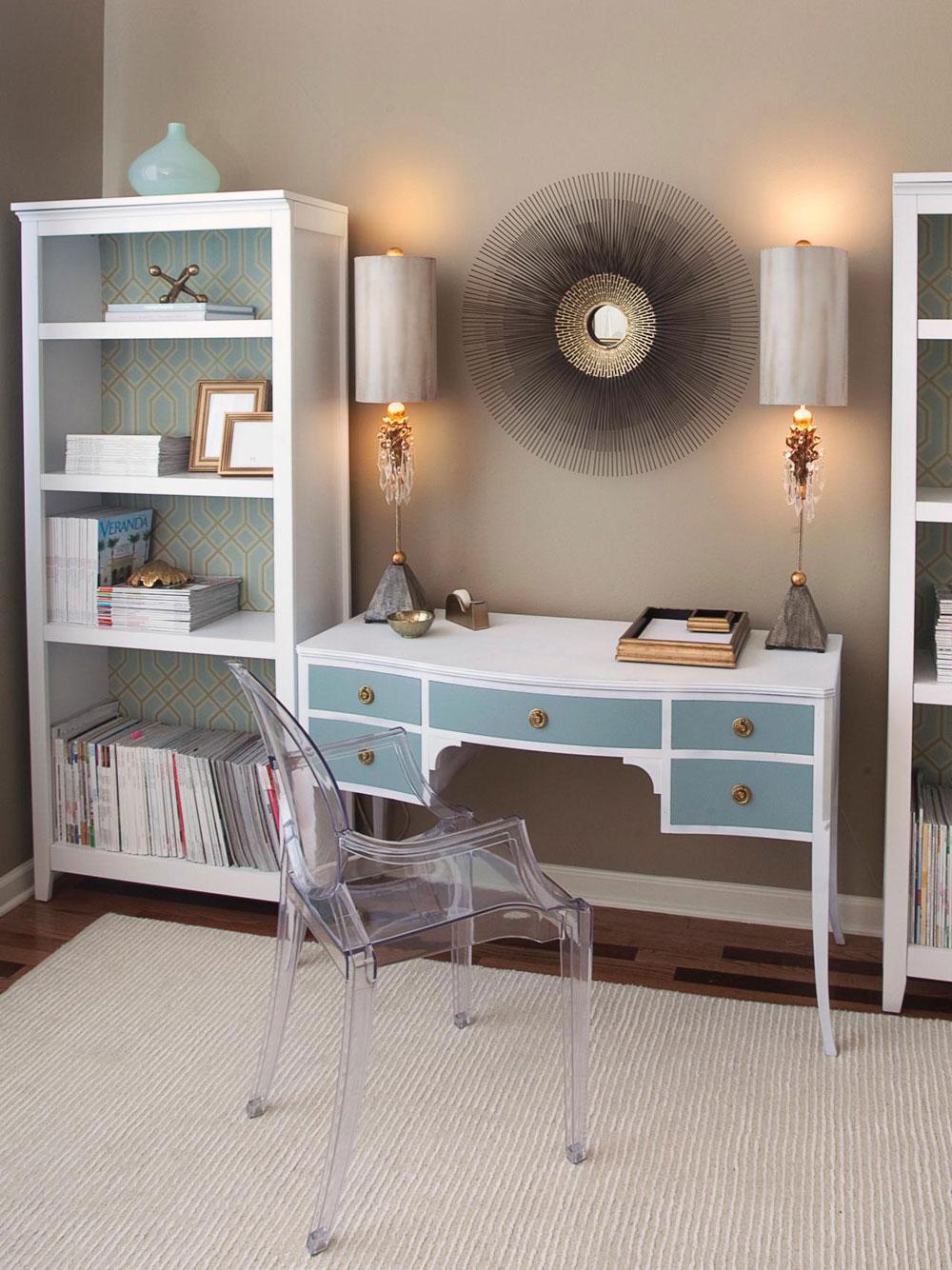 Stora-hem-kontor-design-idéer-för-arbetet-av-hemmet-8 Stora hemmakontor design-idéer för arbete hemifrån människor