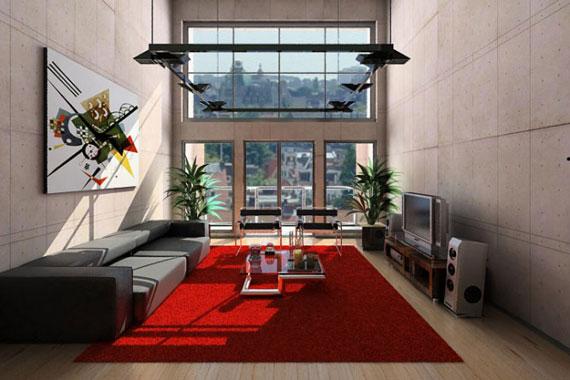 11 Skönheten i minimalistiska vardagsrum med exempel