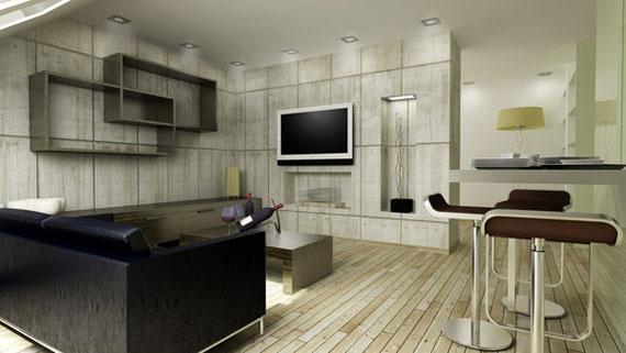 l10 Skönheten i minimalistiska vardagsrum med exempel