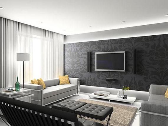 l3 Skönheten i minimalistiska vardagsrum med exempel