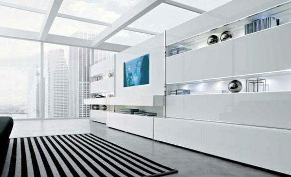16 Skönheten i minimalistiska vardagsrum med exempel
