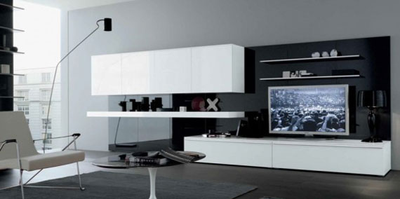 l33 Skönheten i minimalistiska vardagsrum med exempel