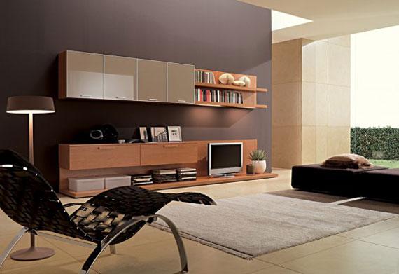 17 Skönheten i minimalistiska vardagsrum med exempel
