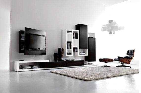 l27 Skönheten i minimalistiska vardagsrum med exempel