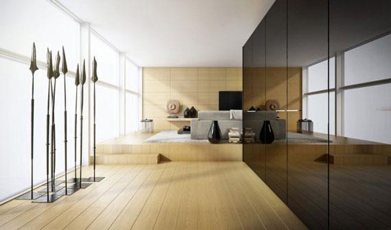 13 Skönheten i minimalistiska vardagsrum med exempel