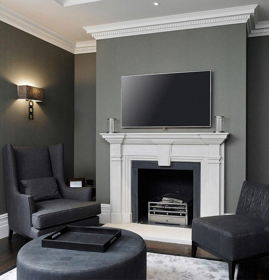 3 stilfullt brittiskt hem med rymlig och elegant inredning