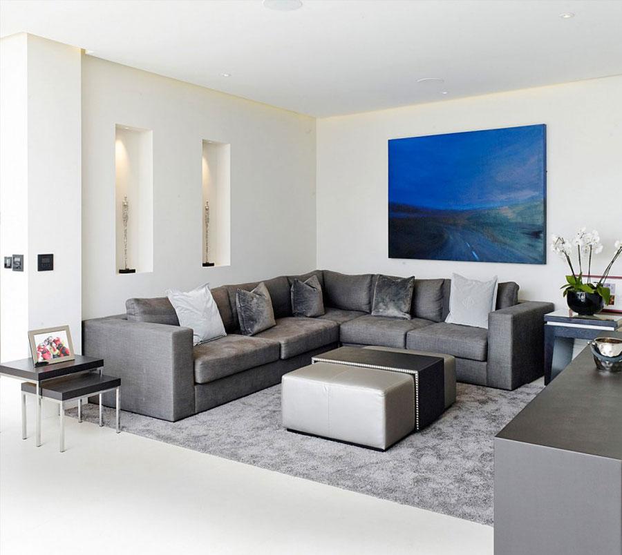 2 elegant brittiskt hem med rymlig och elegant inredning