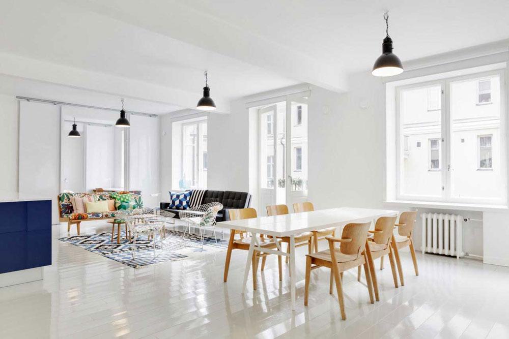 Vägledande skandinavisk design, historia, möbler och moderna idéer