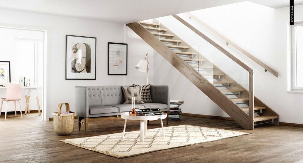 Naturliga element Skandinavisk design, historia, möbler och moderna idéer
