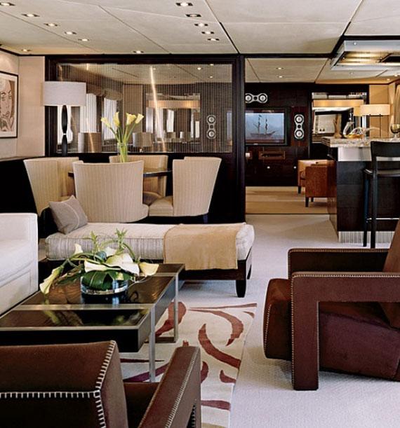 y13 Exempel på glamorösa yachtinredning som kommer att förvåna dig