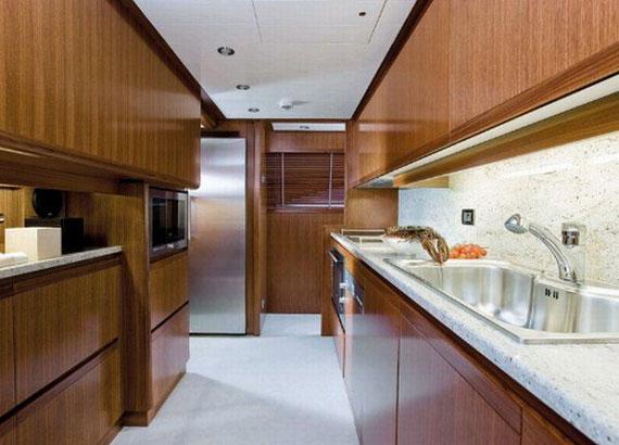 y3 Exempel på glamorösa yachtinredning som kommer att förvåna dig