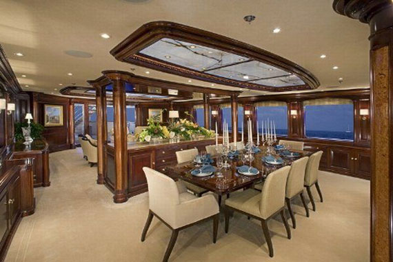 y5 Exempel på glamorösa yachtinredning som kommer att förvåna dig